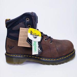 NEW Men's Dr Martens Industrial Steel Toe Boots